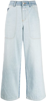 Closed Leyton high-rise wide-leg jeans