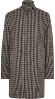 Acne Studios Marc Checked Wool-Blend Coat