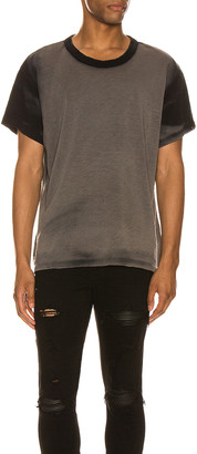 Amiri Washed Shotgun Tee in Black | FWRD