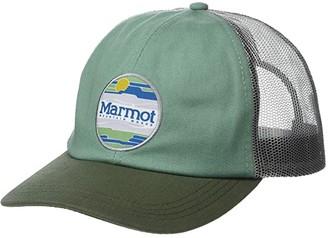 Marmot Kira Trucker (Pond Green) Caps