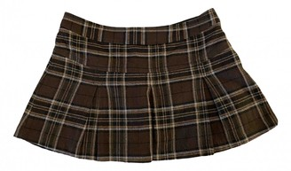 Benetton Multicolour Cotton Skirt for Women