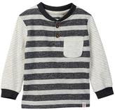 Sovereign Code Bemont Long Sleeve Henley (Toddler & Little Boys)