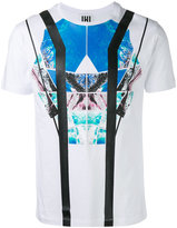 Les Hommes abstract print T-shirt - men - Cotton - M