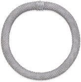 Macy's Diamond Dewdrop Collar Necklace (5/8 ct. t.w.) in Sterling Silver