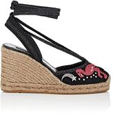 Marc Jacobs Women's Canvas Ankle-Tie Wedge Espadrilles