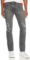 Levi's 505C Slim Straight Fit Jeans in Black