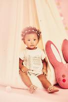 Jessica Simpson Flutter Sleeve Tee & Short Set (Baby Girls)