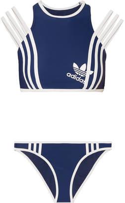 adidas + Ji Won Choi Striped Bikini - Navy