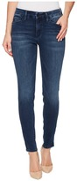 Mavi Jeans Adriana Mid-Rise Super Skinny Ankle in Zip Indigo Move Women's Jeans