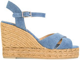 Castaner Blaudell sandals - women - Cotton/Leather/rubber - 35