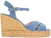 Castaner Blaudell sandals - women - Cotton/Leather/rubber - 38