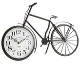 Pier 1 Imports Antiqued Black Bicycle Desk Clock
