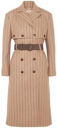 Altuzarra Pinstriped Wool And Cashmere-blend Coat