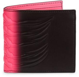 Alexander McQueen Fluorescent Leather Wallet