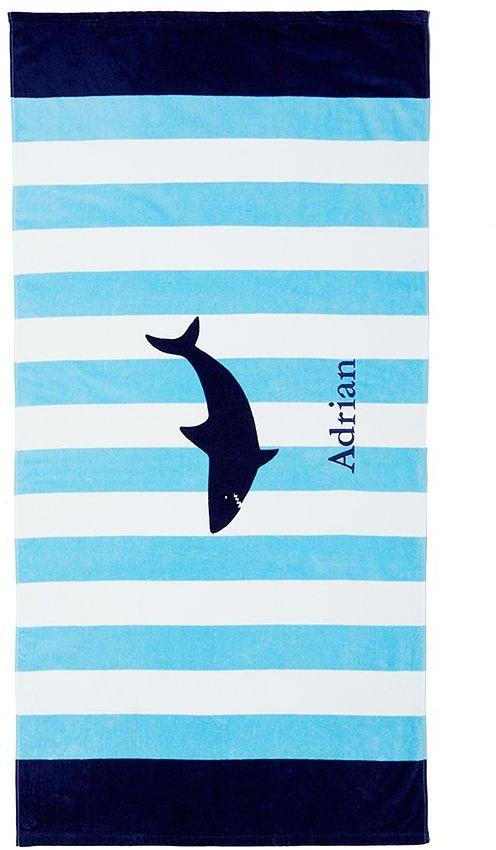 Pottery Barn Kids Shark Beach Towel