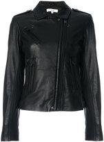 IRO zipped jacket - women - Lamb Skin/Rayon - 36
