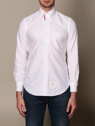 Thom Browne Oxford Shirt With Italian Collar