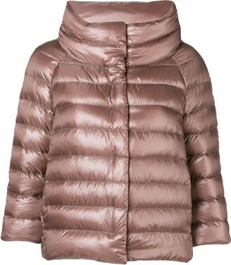 Herno three-quarter sleeved jacket