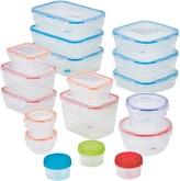 Lock & Lock Easy Essentials Color Mates 36-pc. Food Storage Container Set