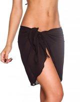 THE MESH KING Coqueta Swimwear Chiffon Cover up Beach Sarong Pareo Canga Swimsuit Wrap -O/S
