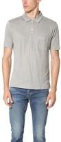 Club Monaco Linen Polo Shirt