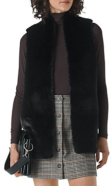 Whistles Faux Fur Vest