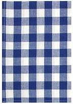 """Traders and Company 100% Cotton Blue Picnic Check 20""""x28"""" Dish Towel, Set of 3"""