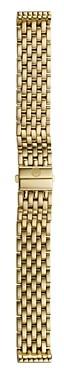 Michele Deco/Deco Mid/Deco Madison/Deco Madison Mid Gold 7-Link Watch Bracelet, 16-18mm