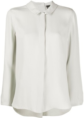 Emporio Armani Spread Collar Blouse