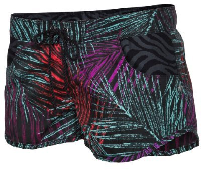 Hurley Juniors Boardwalk Novel Walking Short, Black, 7