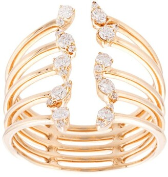 Dana Rebecca Designs 14kt yellow gold Sophia Ryan diamond cocktail ring