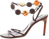 Bottega Veneta Bead-Embellished Sandals