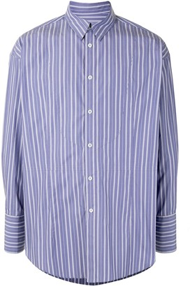 SONGZIO Oversized Multistripe Shirt