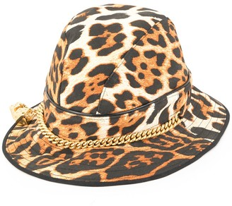 Christian Dior Pre-Owned leopard pattern hat
