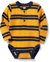 Old Navy Henley Thermal Bodysuit for Baby