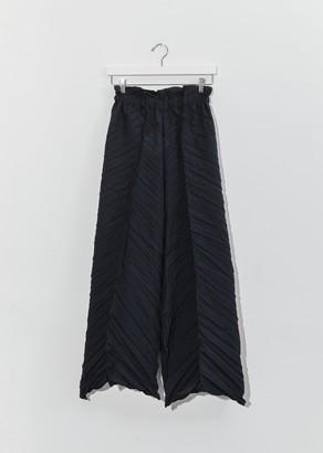 Issey Miyake Tectorum Wideleg Trousers