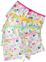 So Aromatherapy Little Girls Boyshort Hipster Panties Kids Underwear 4 Pack