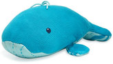 Zubels Hand-Knit Plush Whale, Blue