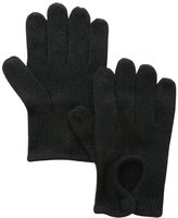 San Diego Hat Company San Diego Hat Women's Knit Short Glove with Eyelet Opening