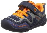 pediped Force Sneaker (Toddler/Little Kid/Big Kid), Silver Navy, 31 (US 13-13.5 Little Kid) M