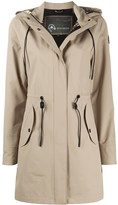 Moose Knuckles toggle detail hooded coat