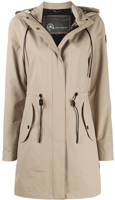 Moose Knuckles Toggle Detail Hooded Coat