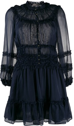 Ulla Johnson Abilene ruffled silk dress