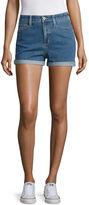 Arizona 2.5 Denim Mom Shorts-Juniors