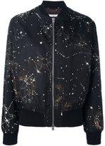Givenchy constellation print bomber jacket