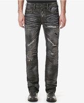 Buffalo David Bitton Men's Indigo Ripped Jeans