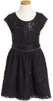 Nanette Lepore Girl's Floral Lace Dress