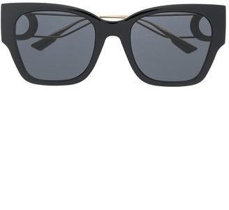 Christian Dior Montaigne square-frame sunglasses