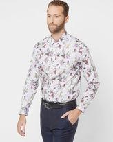 DRIVEIN Floral print cotton shirt