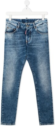 DSQUARED2 Distressed-Finish Jeans
